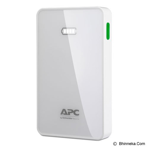 APC Mobile Power Pack 5000mAh [M5WH] - White - Portable Charger / Power Bank